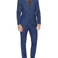 Evert Checkered Wool Suit