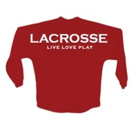 Lacrosse Red Spirit Jersey