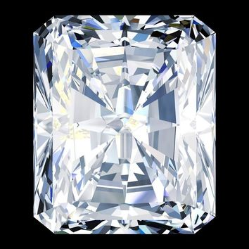 3.25ct Cut Corners Radiant Cut Diamond Veneer Loose Stone