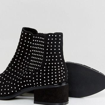 ASOS REON Studded Chelsea Boots at asos.com