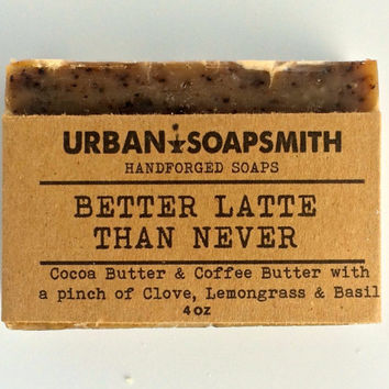 Homemade Coffee Soap, Kitchen Soap with Cocoa Butter, Cold Process Soap, Bar Soap, Men's Soap, Unisex Soap, Kitchen Soap