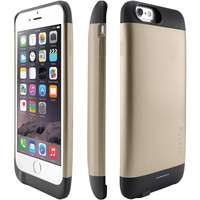 "Ibattz Iphone 6 4.7"" Refuel Invictus 3200mah Battery Charger Case (gold)"
