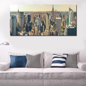 Modern New York City Canvas Set Wall Decor Living Room Pictures Home Decor Canvas Art Prints Modern City Painting Drop FA391