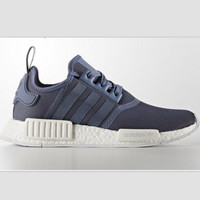 """ADIDAS"" Trending Fashion Casual Sports Shoes  Navy blue"