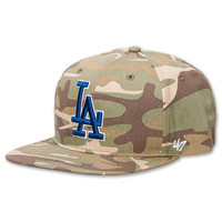 47 Brand Twin Los Angeles Dodgers MLB Air Drop Strapback Hat