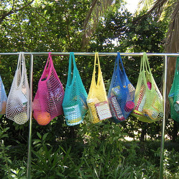 Choose any Five-Organic cotton market bags reusable shopping bags Hand dyed Five cotton shopping bags Hand dyed Eco friendly shopper bags
