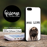 Funny Pug Life iPhone 5 | 5S | SE Cases haricase.com