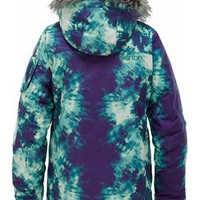 Burton Mistique Snowboard Jacket Tie Dye - Girls 2012
