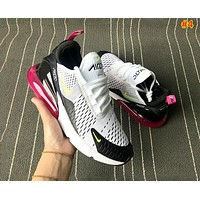 Nike Air Max 270 Tide brand women's wild mesh breathable sneakers #4