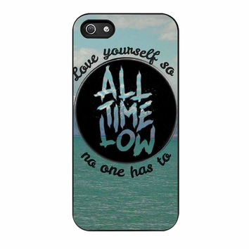 All Time Low Logo iPhone 5s Case
