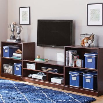 Stack Me Up Media Bookcase Set