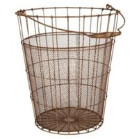One Kings Lane - Aidan Gray - Rusted Gathering Basket