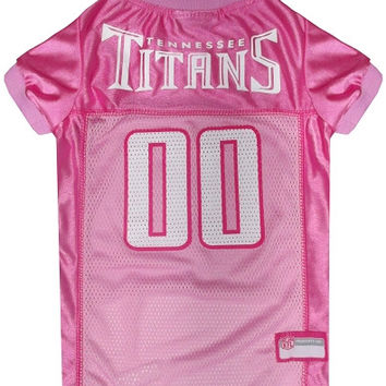 Tennessee Titans Pink Jersey LG