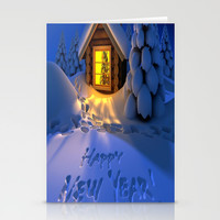 MERRY CHRISTMAS Stationery Cards by Acus