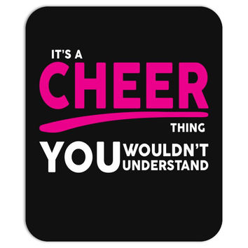 It's A Cheer Thing Mousepad
