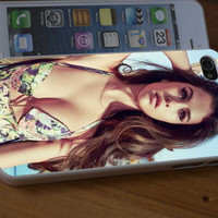 Selena Gomez design for iPhone 4/4s/5/5s/5c, Samsung Galaxy S3/S4 Case