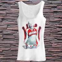 marilyn monroe Miami 6 Tank top for womens and mens heppy fit