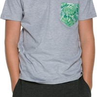OF ONE SEA  PALM PARTY PRINT TEE