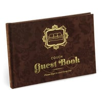 KNOCK KNOCK COUCH GUEST BOOK