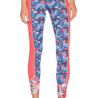 Maaji Blooming The Sky Pant in Iris Peony