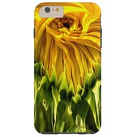 Sunflower Whirl Tough iPhone 6 Plus Case
