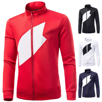 Men Hoodies Print Casual Men's Fashion Jacket [6528648195]