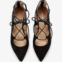 Lace Up Flat from EXPRESS