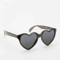 Bisou Heart Sunglasses- Black One