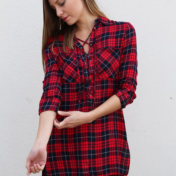 Case of the Lace Up Tunic