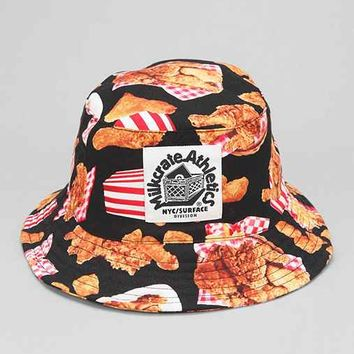 Milkcrate Athletics Fried Chicken Bucket Hat- Black Multi