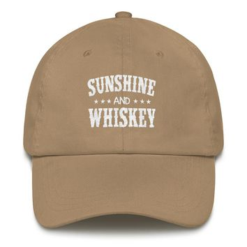 Sunshine And Whiskey - Dad Hat, Various Colors Available