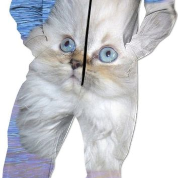 Cat and Water Onesuit