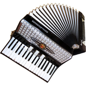 Royal Standard Capella, 80 Bass 5 + 3 Switches, German Piano Accordion, Case, Musical Instrument, 316