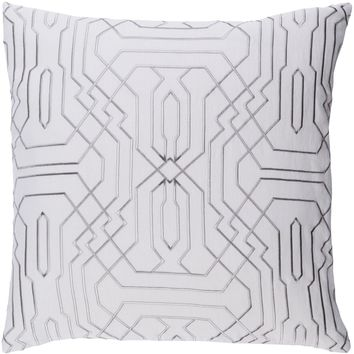Ridgewood Throw Pillow Neutral, Gray