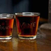 Mine and Yours Shot Glasses | Cool Material
