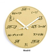 accessoryinlove — Math and Science Pop Quiz Wall Clock