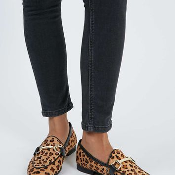 KENDALL Leather Buckle Loafer - Shoes