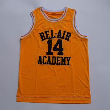 Will Smith Bel Air Academy Jersey Yellow