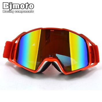 Moto Racing Goggles Outdoor sport Off-Road Motocross ATV Dirt Bike Motorcycle Goggles Eyewear Lens Ski Glasses Windproof Goggle