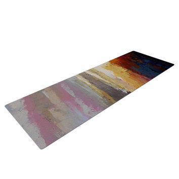 "Carol Schiff ""Georgia Morning"" Multicolor Nature Yoga Mat"