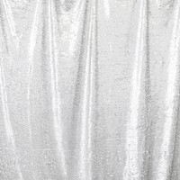 Silver Sequin Printed Photography Background / 4600