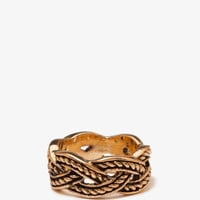 Braided Rope Ring