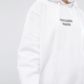 Adolescent Clothing Holidays Professional Wrapper Oversized Hoodie at asos.com