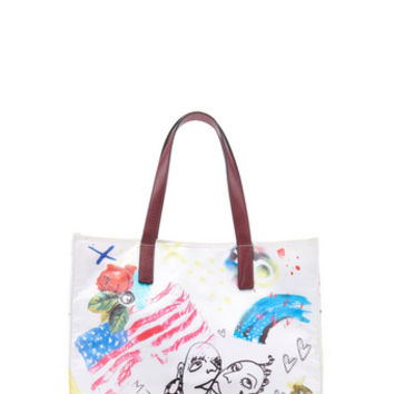 Marc Jacobs B.Y.O.T. Collage Print N/S Tote - Marc Jacobs