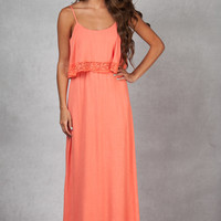 Just For Fun Coral Maxi