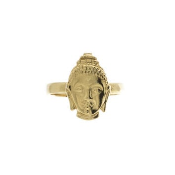 Bindhi Buddha Knuckle Ring