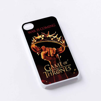 war is coming game of thrones iPhone 4/4S, 5/5S, 5C,6,6plus,and Samsung s3,s4,s5,s6