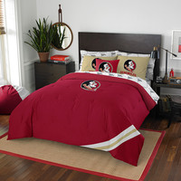 Florida State Seminoles NCAA Bed in a Bag (Contrast Series)(Full)