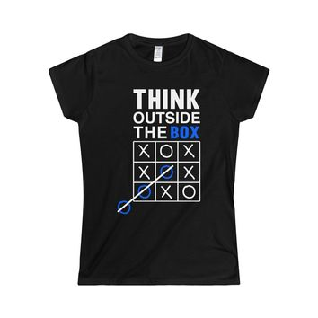 Think outside the box- Soft Tee