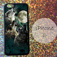 Three Wolf On The Night - cover case for iPhone 4|4S|5|5C|5S|6|6 Plus Note 2|3 Samsung Galaxy S3|S4|S5 Htc One M7|M8